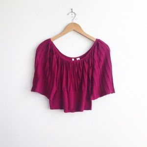 Anthropologie : Moth Cropped Sweater Size Medium